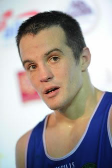 Irish Olympic Boxing Captain, the pride of Paulstown, Darren O Neill